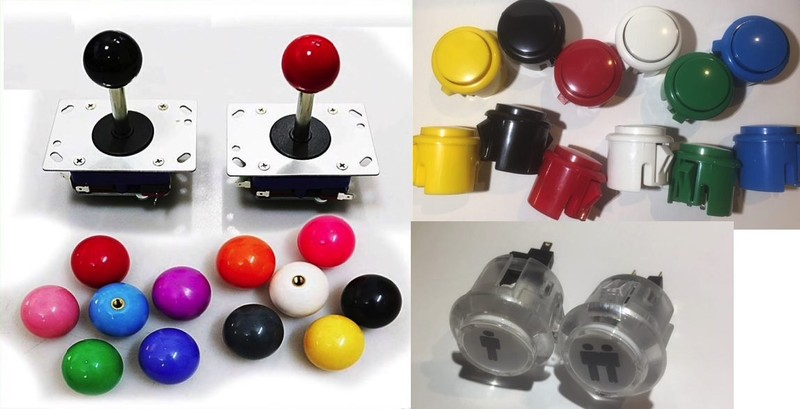 Arcade joysticks and buttons pack > NZs Best deal <