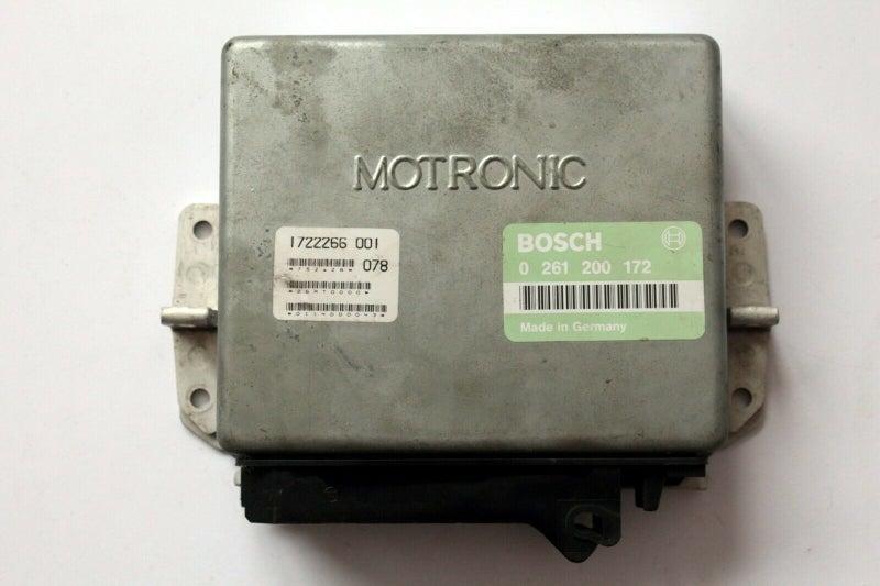 BMW E30 320i Bosch Motronic ECU 0261200172 0 261 200 172   Trade Me