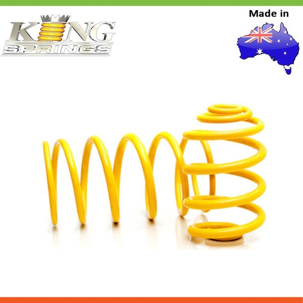 2x King Springs LOWERED EHD COIL SPRING For HOLDEN COMMODORE
