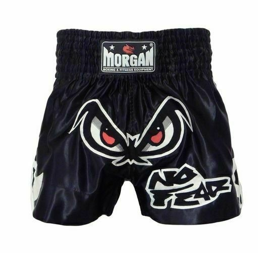 Size L MORGAN Fearless Muay Thai Boxing MMA Pants Shorts