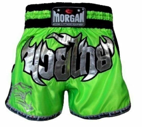 Size L MORGAN BKK Ready Muay Thai Boxing MMA Pants Shorts