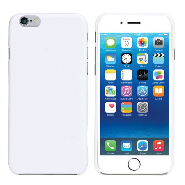 separation shoes 0a349 59cc8 Gecko Ultra Slim Case Cover Protector For Apple iPhone 6 Scratch Resistant  White