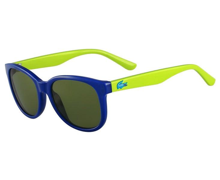 Grn Girls Glasses Blue Sunglasses Kids Lacoste Square Eyewear Uv Protection Boys nwvN8mO0