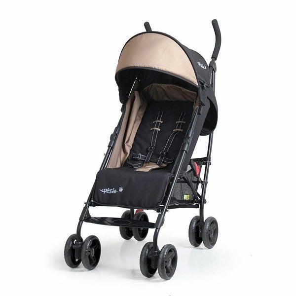 Vee Bee Pixie Foldable Stroller Pram For Baby Infant Toddler Recline Black Bg