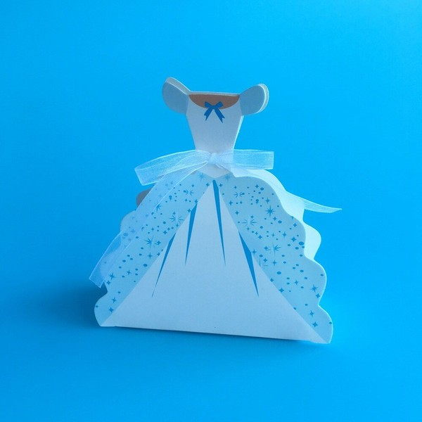 25pcs Baptism Candy Box Girl Baby Shower Favor Boxes And Bags Small Gift Boxes