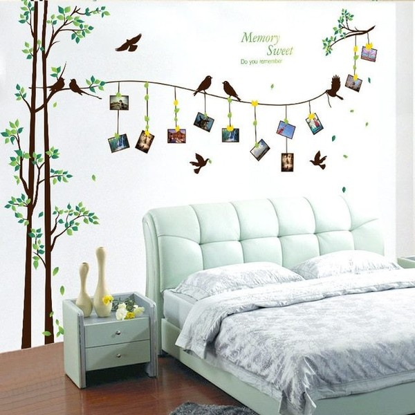 Tree Wall Stickers Home Decor Living Room Bedroom Art Decals Family Murals