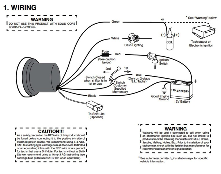 Autometer Pro Comp 2 Wiring Diagram from trademe.tmcdn.co.nz