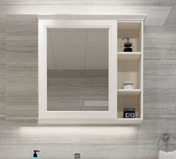 New Arrival Meira Bathroom Wall Mirror Cabinet W77cm