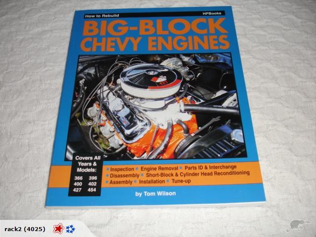 rebuild chevy 396 engine