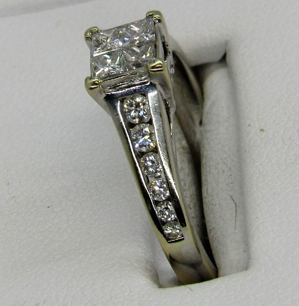 18ct Modern Diamond Dress White Gold Value 2 950 0 Trade Me