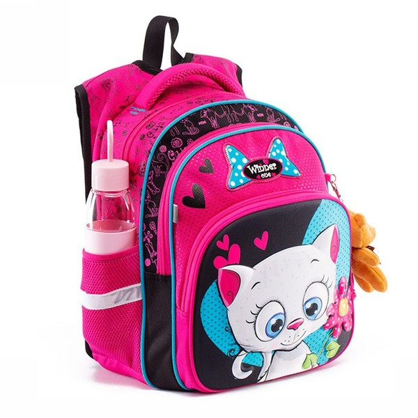 3D pattern cartoon school bag children orthopedic backpack primary school  bag