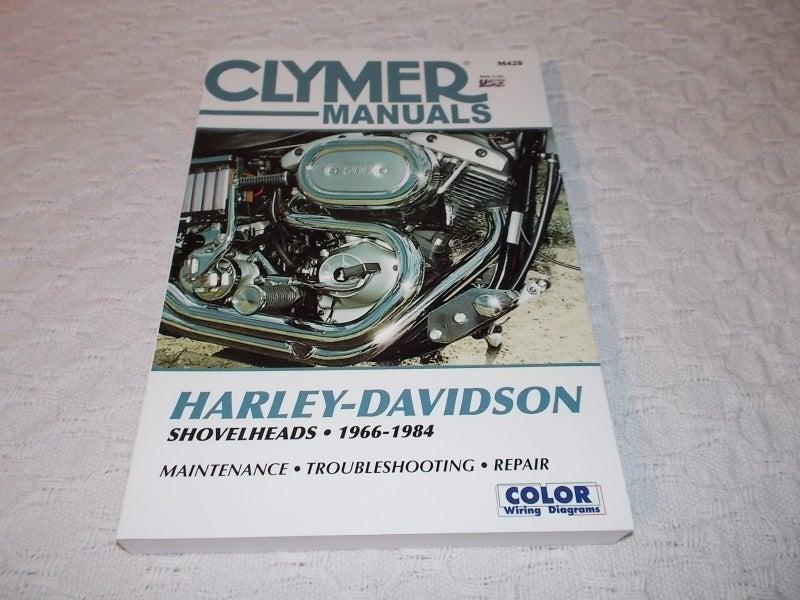 M420 Clymer M420 Repair Manual For Harley-Davidson Shovelheads