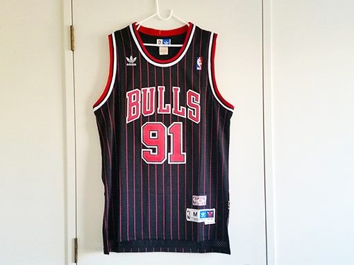 size 40 2d7aa a79c0 Dennis Rodman - NBA Chicago Bulls HWC Retro Jersey - M ...