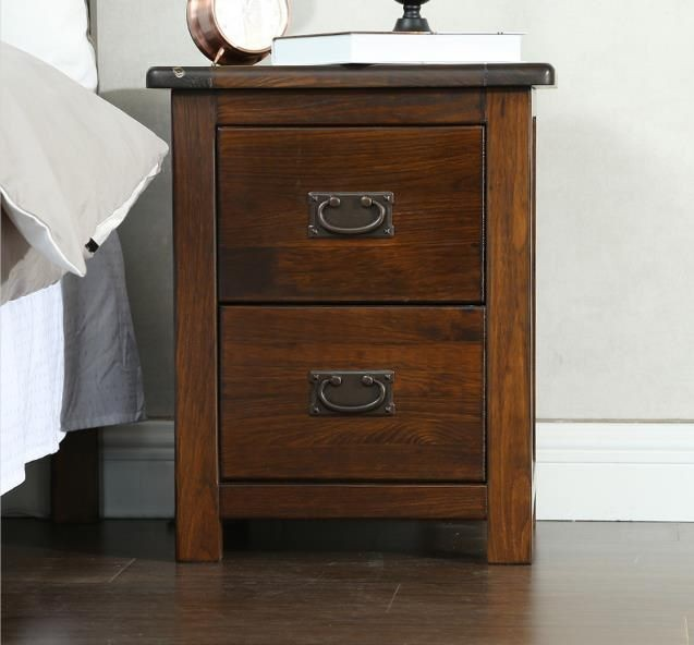 the best attitude 62d42 f7d97 *MG* #210-2 Solid wood Bedside table , Walnut color available