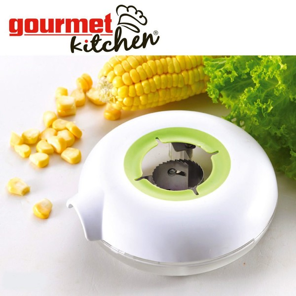 Kitchen Helper Corn Kerneler Peeler Stripper Remover Slicer Round Gadget  Tool