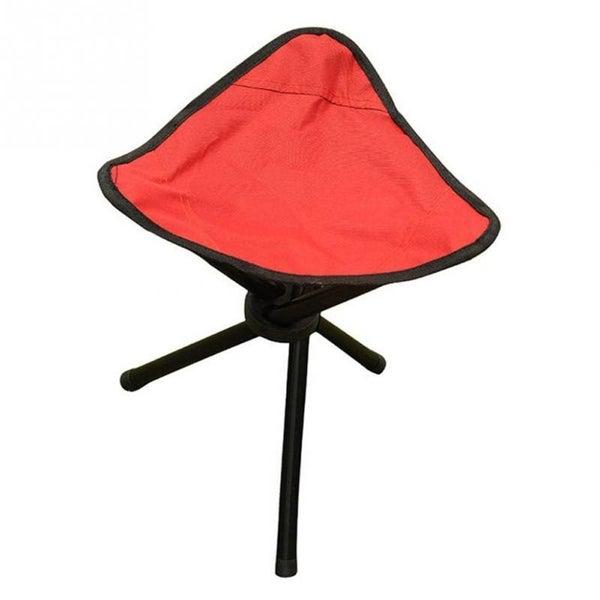 Incredible Portable Small Three Legged Stool Folding Chair Beach Chair Stool Outdoor Ibusinesslaw Wood Chair Design Ideas Ibusinesslaworg