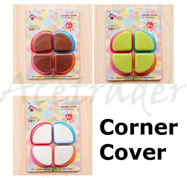 Safety Desk Table Corner Edge Cushion Cover Baby Child Safe Crash Side Protector