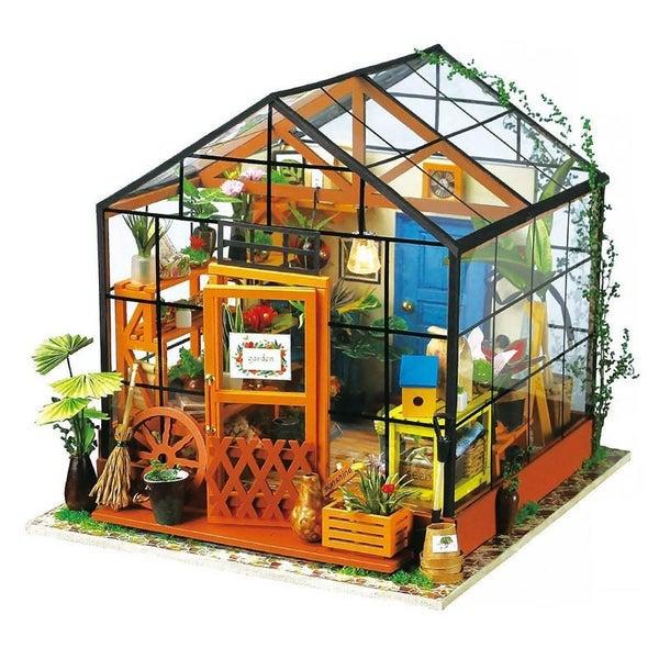 Free Shipping Zalaxy Greenhouse Diy House Model Kit