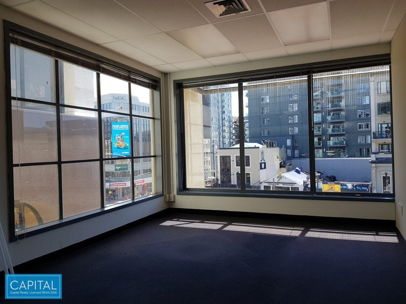 110 sqm - Modern Office Tenancy -Courtenay Place