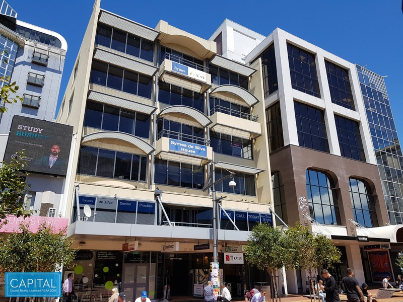 160 sqm - Modern Office Tenancy -Courtenay Place