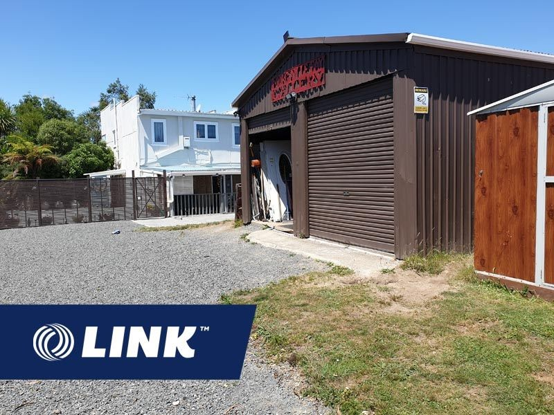 Freehold Commercial Tokoroa with Accomodation