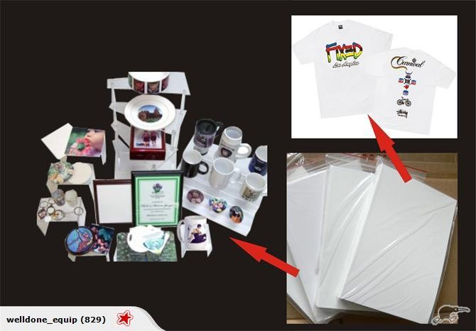 Sublimation transfer paper 100 sheets