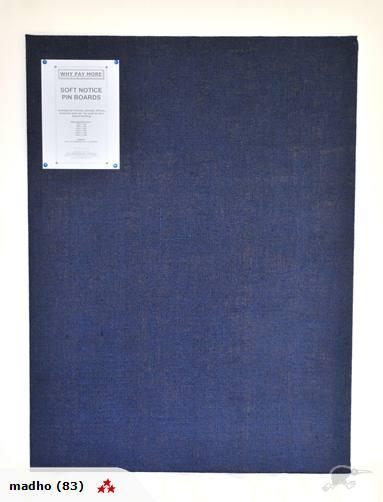 SOFTBOARD PIN BOARD 1100 X 2440 HESSIAN FABRIC