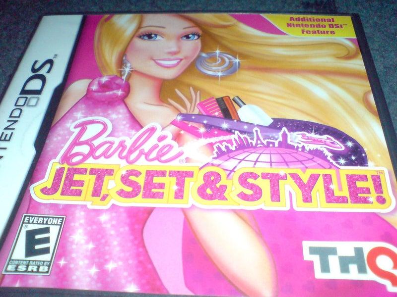 Barbie: Jet, Set & Style - Nintendo DS