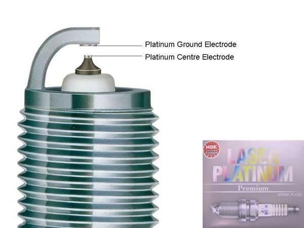 4 Spark Plugs NGK Laser Platinum PZFR6F11
