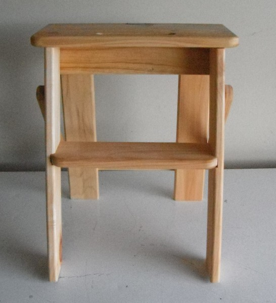 Incredible Ladder Stool Folding Wooden Small 1 Step Ibusinesslaw Wood Chair Design Ideas Ibusinesslaworg