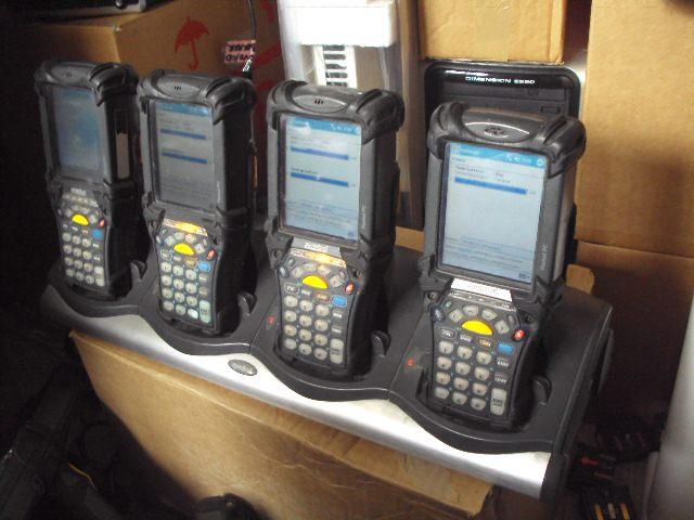 10 X Symbol MC9063-S Wireless Barcode Scanners