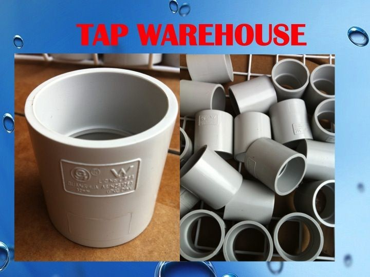 Tapwarehouse DWV PVC BEND 32 MM Coupling joiner