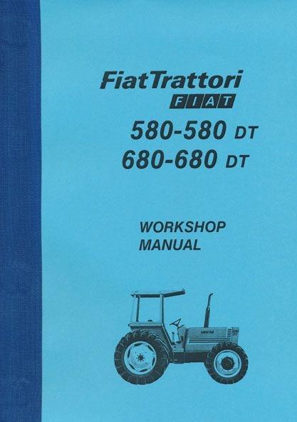 fiat 411r tractor workshop manual