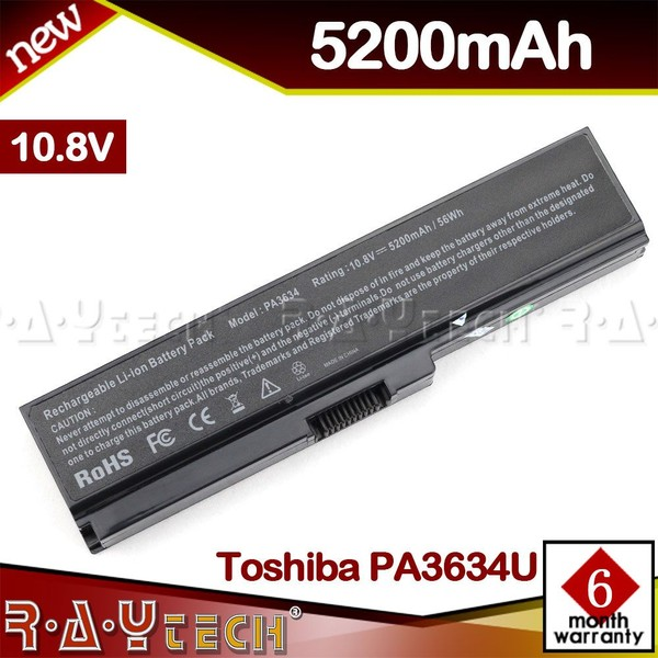 PA3634U Battery for Toshiba Satellite U400 M800 C660 C670 L650D L655D L670 L675 | Trade Me