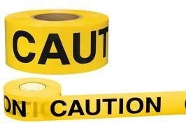 CAUTION TAPE 300 METER X 75 MM $28 50 **** FREE SHIPPING***