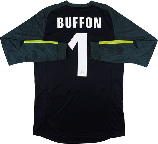 size 40 f0e9c db9b6 NEW 2013-14 Juventus Nike Goalkeeper GK Jersey BUFFON #1