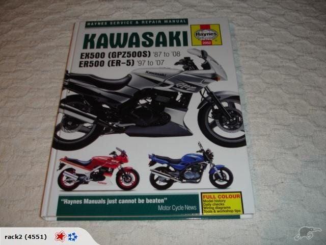 kawasaki ex500 gpz500s 87 08 er500 er 5 97 07 hayn trade me  kawasaki gpz500s wiring diagram #12