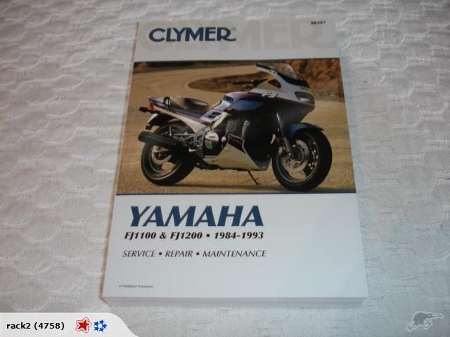 Yamaha Fj1100 Fj1200 1984 To 1993 Clymer Manual Trade Me