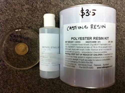 Casting Resin - Polyester Water Clear Casting Resin