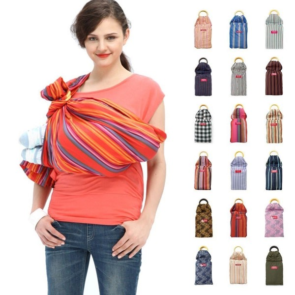 ad524688273 MAMAWAY Ring Sling Baby Carrier  Carmen