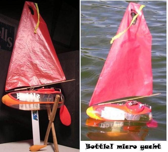 Model Micro YACHT - ARS Kit - sailing made simple