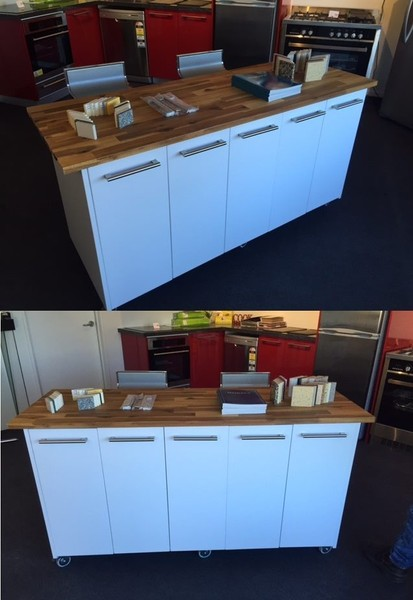 Movable Island Kitchen Workbench Great Look