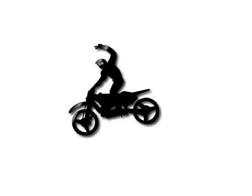 FMX Rider - Wall Art - Style 1
