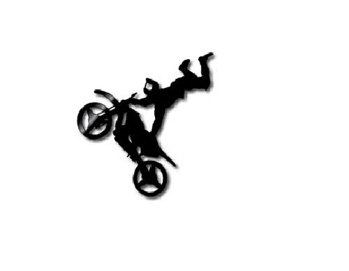 FMX Rider - Wall Art - Style 2