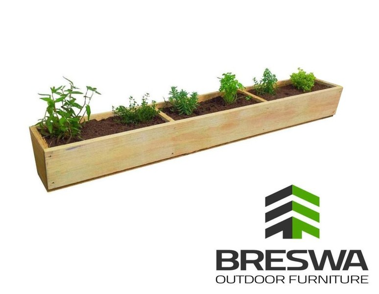 Planter Box 1500 Long Fresh Herbs Veges Trade Me