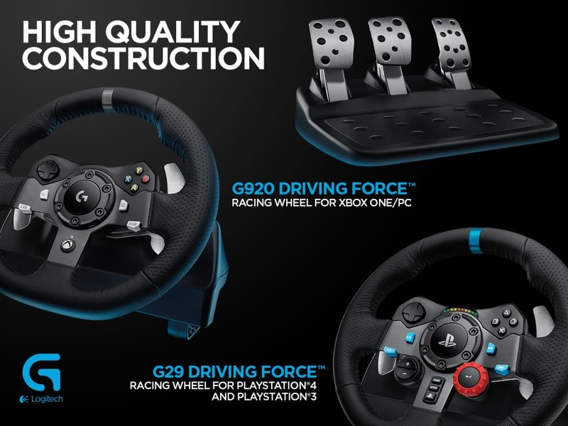 Logitech G920 Driving Racing Wheel For Xbox One Pc Trade Me