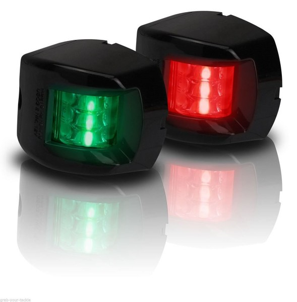 Navigation Light Boat Port Starboard 12volt Led Black