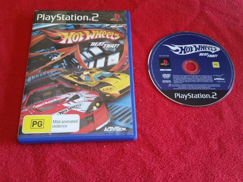 Hot Wheels: Beat That! - PS2 Game