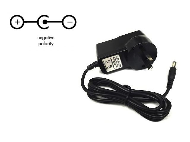 Guitar Pedal Power Adapter 9V negative central