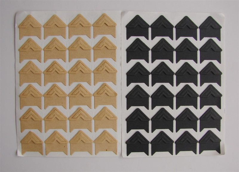 Photo Corners Vintage Self Adhesive Paper Ones Trade Me